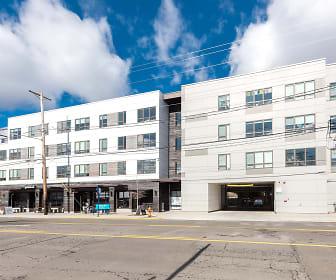 Building, Hawthorne Apartments