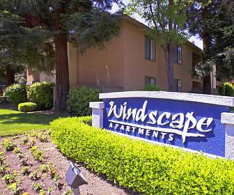 Community Signage, Windscape Apartments