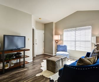 Living Room, Pecan Orchard Apartments