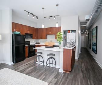 Kitchen, Mariposa Loft Apartments @ Inman Park