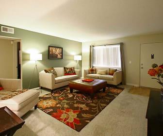 Living Room, Dakota Creek Apartments