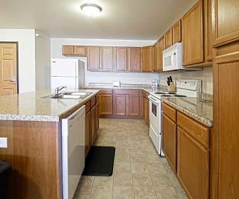 Kitchen, Stanley Square Apartments