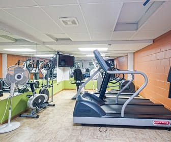 Fitness Weight Room, Park Tower Apartments