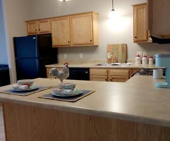 Kitchen, Devon Apartments