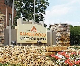 Community Signage, Ramblewood Apartments