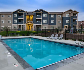 Pool, Copper Stone Apartments
