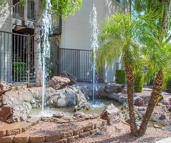 Waterfall Feature, Terra Vida Apartments