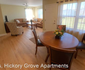 Dining Room, Hickory Grove Apartments