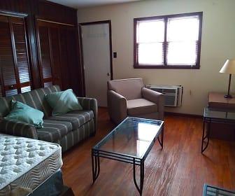 Living Room, Quail Ridge Apartments