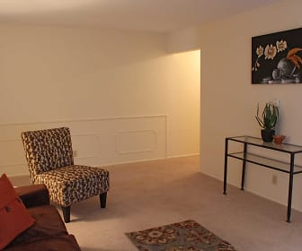 Living Room, Eastlawn Arms Apartments