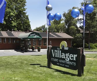 Community Signage, The Villager