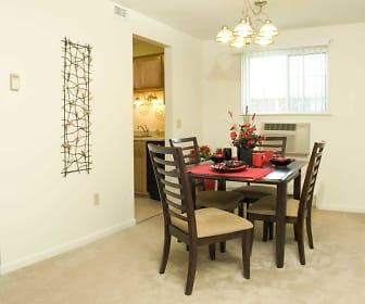 Dining Room, Bradford Manor Apartments