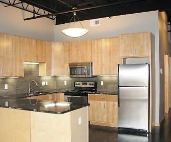 Kitchen, Lofts 23 Apartments