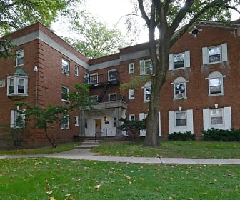 Building, Colonial Gardens Apartments