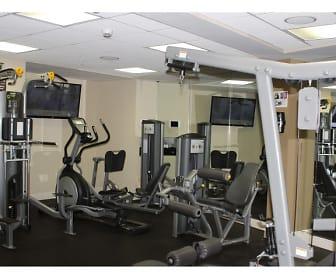 gym with TV, Miami Riverfront Residences