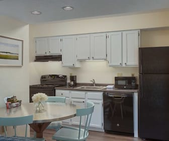 Kitchen, Residences at Daniel Webster