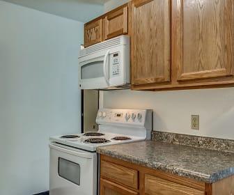 Kitchen, Silver Leaf Apartments