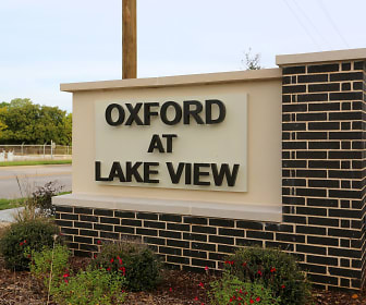 view of community / neighborhood sign, Oxford at Lake View