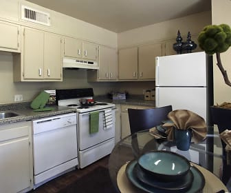 Kitchen, The Residence at River Bend