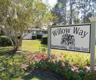 Community Signage, Willow Way Apartments