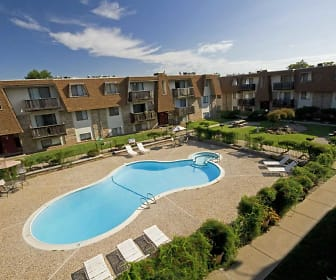 Pool, Seminole Apartments