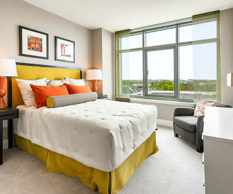 Bedroom, The Avant At Reston Town Center