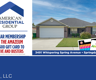 3491 Whispering Spring Avenue, Springdale, AR