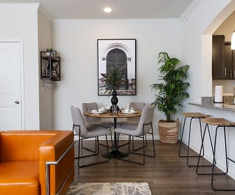 Dining Room, Santa Clara Apartments