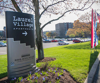 Community Signage, Laurel Village Apartments