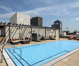Pool, Arrive South Loop Apartments