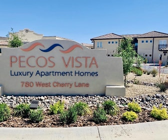 Community Signage, Pecos Vista Apartments
