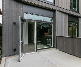 Abernethy Flats Apartments, St Agatha Catholic School, Portland, OR