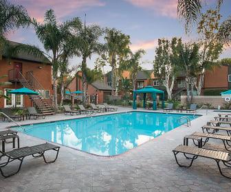 Pool, Highland Pinetree Apartments