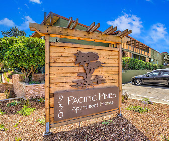 Community Signage, Pacific Pines Apartments