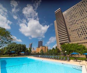 Pool, City View