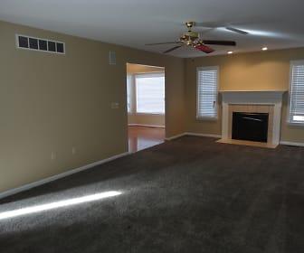 Living Room, 15 Whispering Woods Lane
