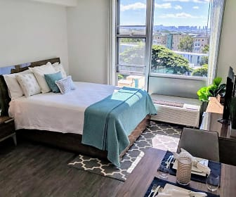Bedroom, Moanalua Hillside Apartments