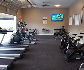Fitness Weight Room, Village at Grants Mill