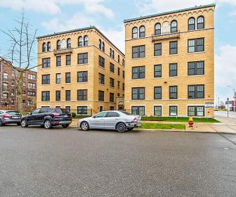 Rainer Court Apartments, Midtown, Detroit, MI