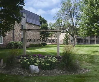 Community Signage, Valley Manor Apartments
