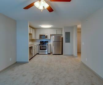 Open Floor Plan, Dupont Avenue Apartments