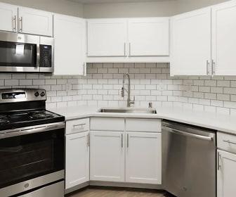 Kitchen, Helix Apartments