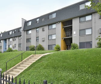 Rosemont Gardens Apartments, Western Baltimore, Baltimore, MD