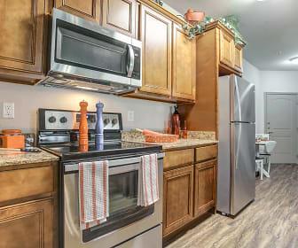 Kitchen, Oakview Apartments