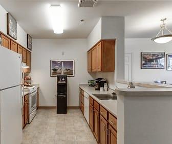 Kitchen, Oak Hill Apartments