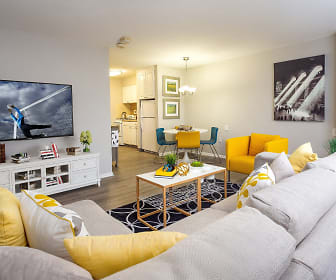 Living Room, The Yorkhouse - 55+ Senior Community