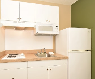 Kitchen, Furnished Studio - Denver - Cherry Creek