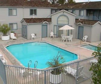 Pool, Indiana Avenue Apartments