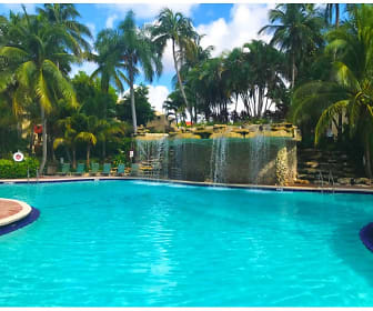 Pool, Fontainebleau Milton