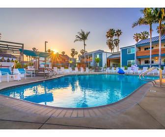 Pool, Beverly Plaza Apartments